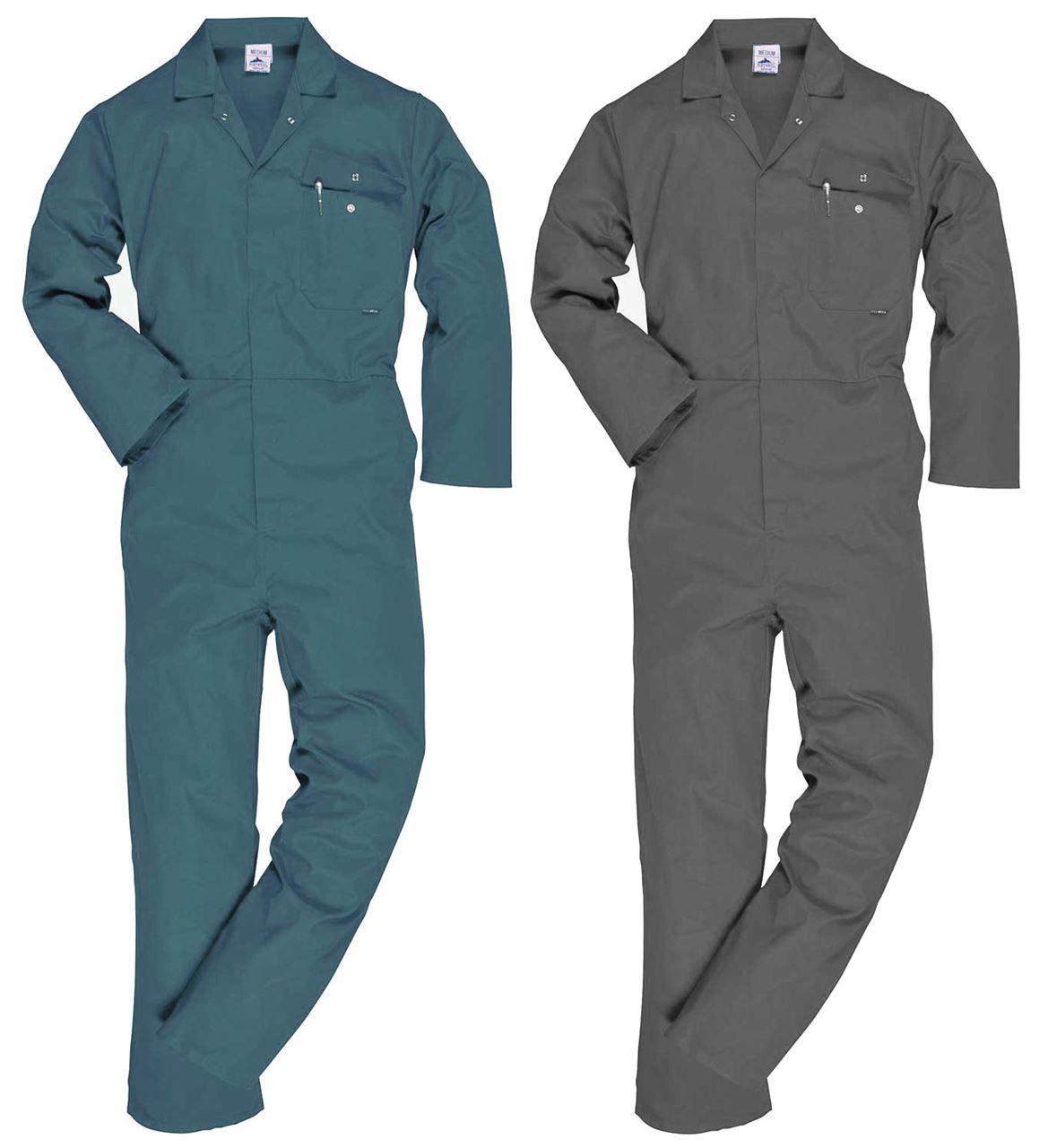 Portwest Men Coverall Work Portwest Men Coverall Work Boiler Suit ...